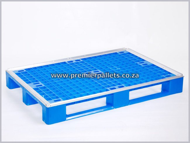 Plastic pallet with aluminium - Premier pallets